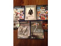 PlayStation 2 games x7