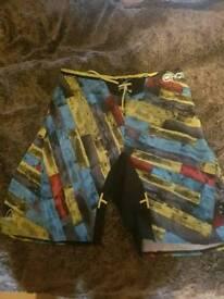 3 pairs of shorts medium/large