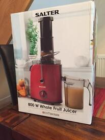 SALTER Whole Fruit Juicer. BNIB! Perfect gift for Mother's Day!