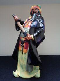 Royal Doulton Blue Beard Pirate Figurine HN2105 Absolute Bargain