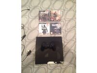 Selling PS3 Slim 120GB with 4 Call Of Duty Games