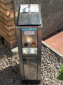 Valentine Industrial Catering/Snack Van 8 Litre Stainless Steel Deep Fat Fryer in Good Condition