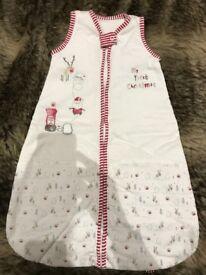 'My first Christmas' sleeping bag