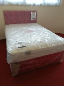 New Myer Adams Luxury Comfort Double Bed with Mattress