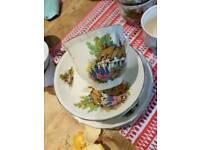 Alfred Meakin cottage tea set