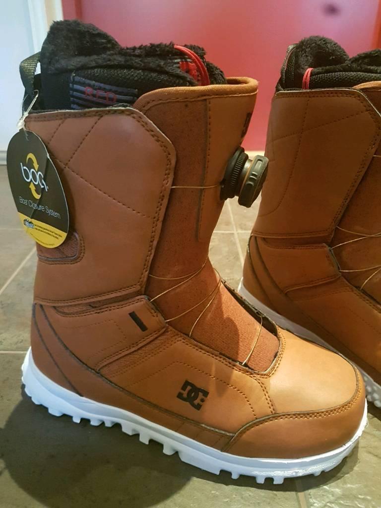 DC Search 2018 Boa snowboard boots UK7.5