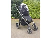 Uppababy pushchair buggy with additional seat to convert to double buggy