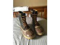 pair of men's sorel winter boots