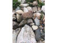Large quantity of loose stone