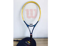 Wilson tennis racket, bargain at only £15, first to see it buys, I've got other rackets too