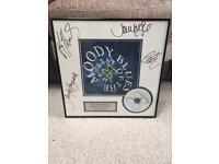 1997 Limited Edition signed 'The Moody Blues' Memorabilia Framed Disc