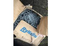 Galvanised round head nails never been used