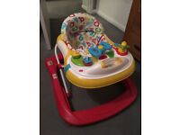 Mothercare ABC sit in baby walker
