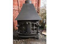Yeoman 8kw wood burner,log burner,woodburning stove