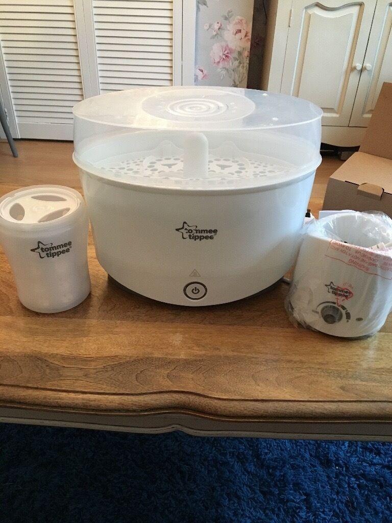 Tommee tippee steriliser, bottle warmer & diswasher pod