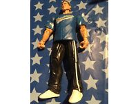 2 wrestling figures - on ref (this is not in pic)