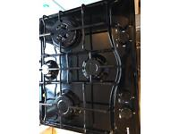 Hotpoint 4 Zone Black Gas Hob New and Unused
