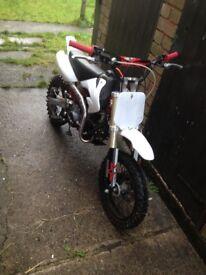Kxf m2r 125 pit bike motorbike