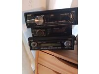 Car cd players from £10 to £35 take your pick can also fit at cost in some cars