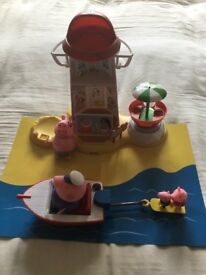 Peppa pig play sets, smoke/pet free home. Hardly played with. Will only sell all together