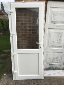 Upvc door New £150 (only 4 months was in use)