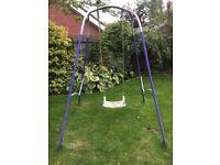 Garden Swing - blue