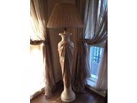 Elegant Marble Floor Lamp