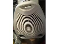 Small fan heater