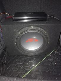 Alpine type r sub and amp subwoofer