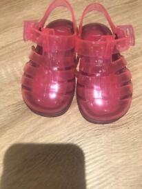 Next jellies pink infant 4