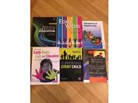 11 Early Years book suitable for Level 3 to university level