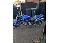 Hornet 919 mot aug renthal bars remus exhaust good tires rides like a dream starts on the button