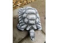 solid concrete tortoise