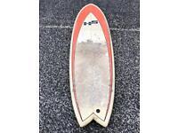 HS 6'3'' fish cheap surfboard