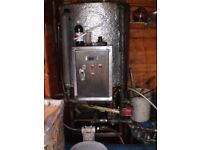 200 LITRE BIODIESEL PROCESSOR, Excellent condition, stainless steel