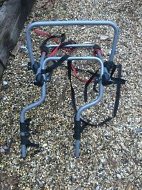 Bike rack for Freelander that fits over spare wheel hardly used