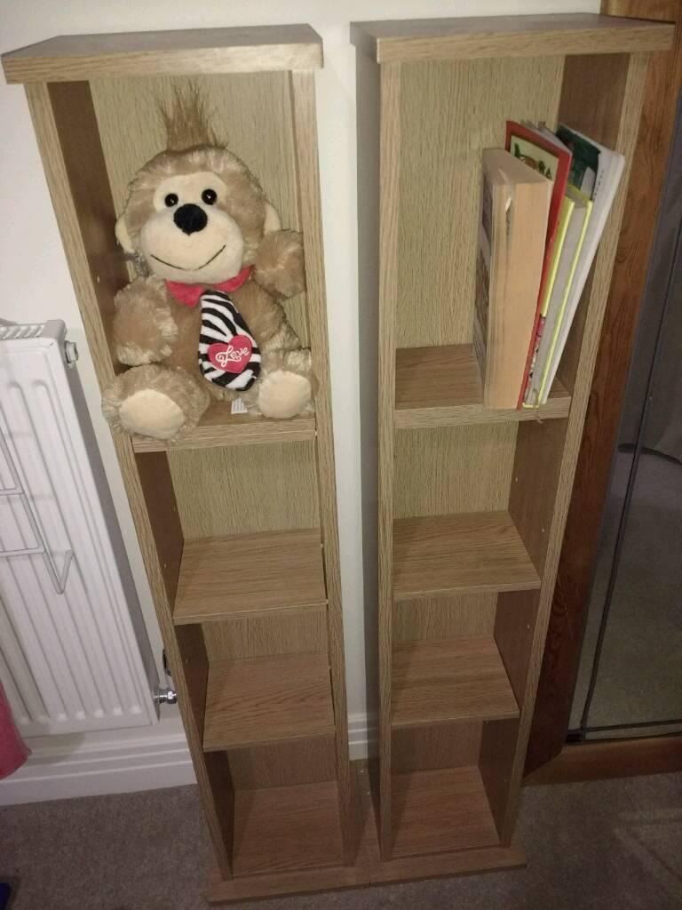 CD/DVD/book shelf