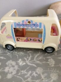 Sylvanian family ice cream van