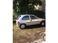CORSA B SPARES OR REPAIR MUST GO!!!