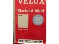 Velux Black out blind CK02