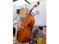Gorgeous 3/4 size Andreas Keller Double Bass + bag & stand