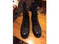 Brand New,,,, Clark Black Boot, For Lady,, Bargain