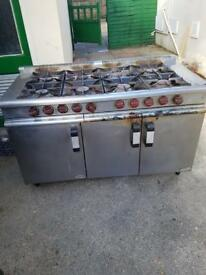Industrial gas cooker