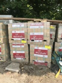 MARSHALLS SURPLUS PAVING BLOCKS FOR SALE - 18 Pallets