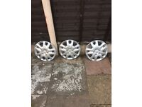 Silver Wheel caps for sale