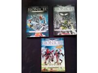 3 x Bionicle Books (THE LEGO SERIES) – excellent condition