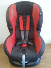 CAR SEAT, MAXI- COSY, UNIVERSAL, PRIORI, MOTHERCARE, 9 - 18 kg,SUITABLE FROM 6 MONTHS TO 6 YEARS OLD