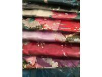 NEW: Silk satin Kimono dressing gown (multiple colours)
