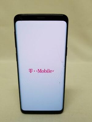 T-MOBILE SAMSUNG GALAXY S9 BLACK LTE GSM UNLOCKED 64GB NO CONTRACT AS-IS PHONE