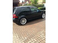 Golf GTI 2002 117000 miles 13 month mot new alloys and tyres scorpion exaust loads extras